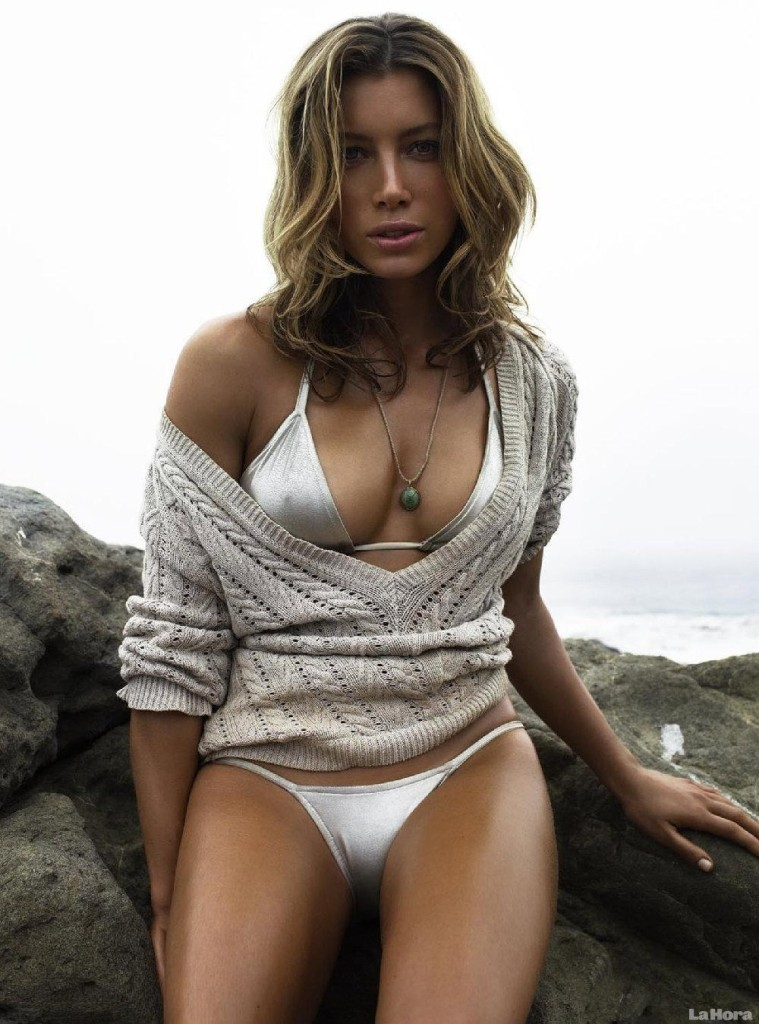 Jessica Biel. Image copyright whomever took it.
